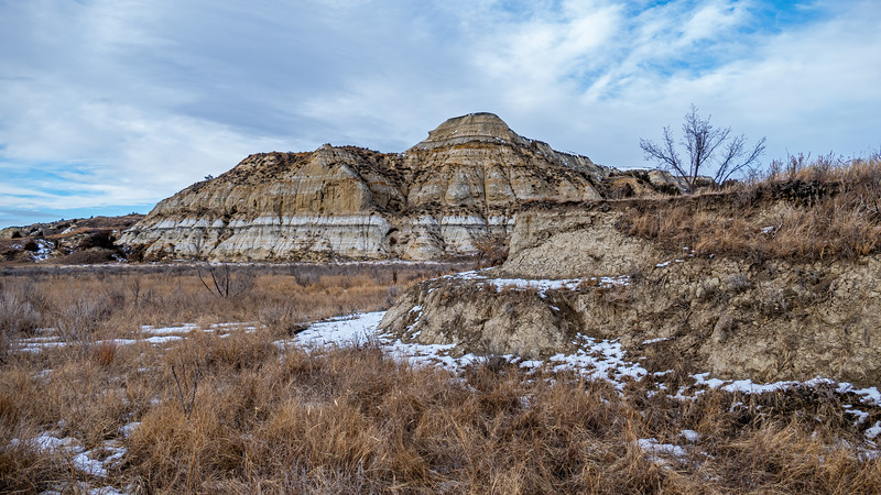 Magpie Creek in Winter, Billings County, North Dakota