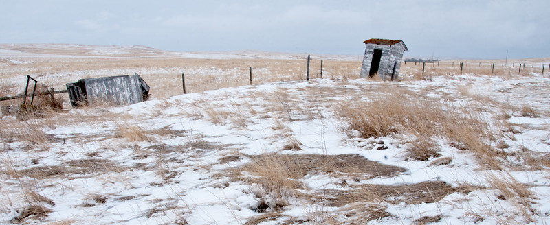 No Place to.... Rest.   Trotters, North Dakota