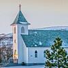Grassy Butte Catholic church building