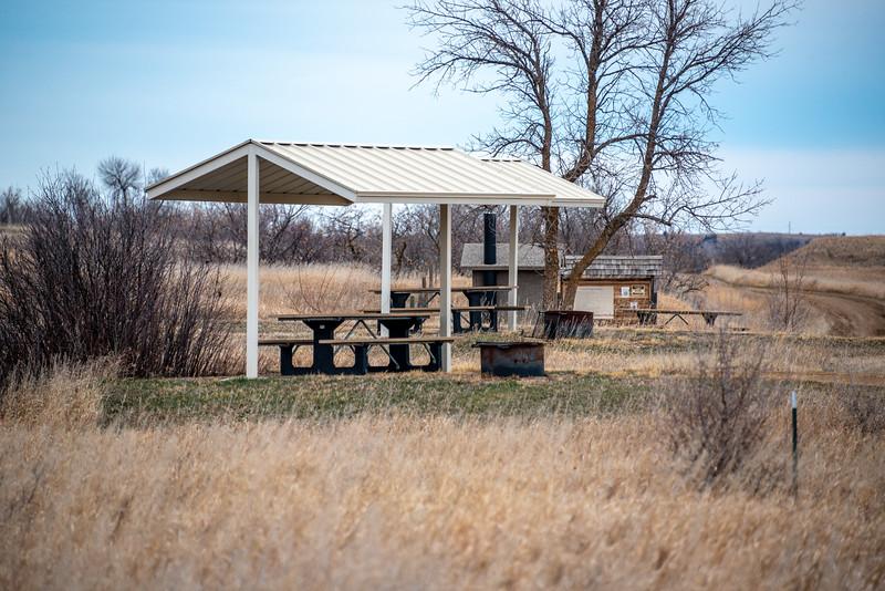 Summit campground shelter
