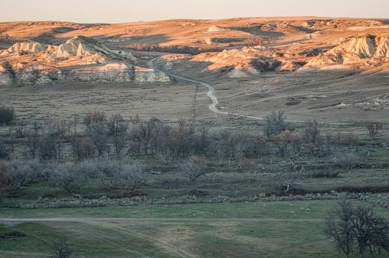Road Across Beaver Creek