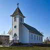 Church at Grassy Butte, North Dakota