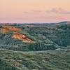 "The last of sunset above the Elkhorn Ranch, of Theodore Roosevelt's in the North Dakota Badlands.<br /> <br /> You can own this image.  Just click ""buy"" and see all the products you can order with this image."