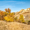 "Fall colors in the North Dakota Badlands.<br /> <br /> <br /> You can own this image as a wall decor, coffee mug, mouse pad or other product.  Just click the ""buy"" button to go shopping."