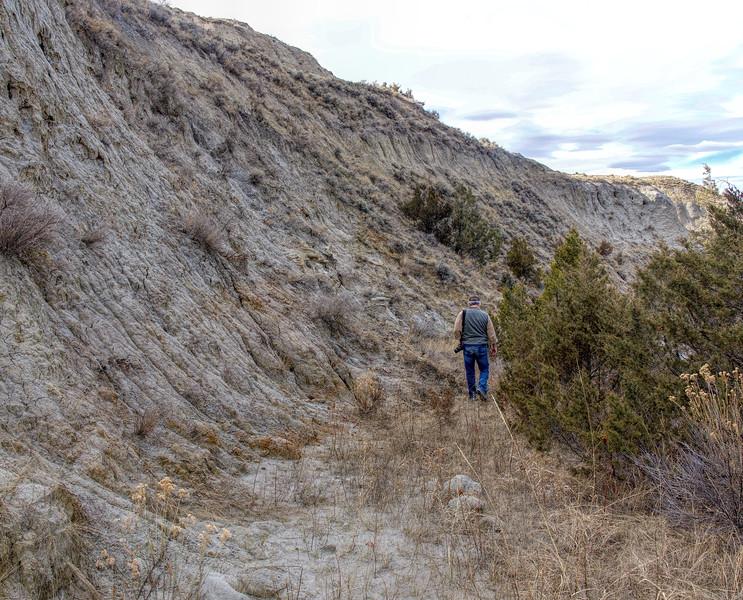 Summit trail detour