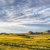 Grasslands and Badlands at Golden Hour