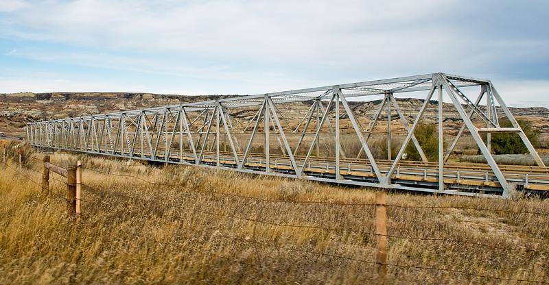 Long X Bridge, North Dakota