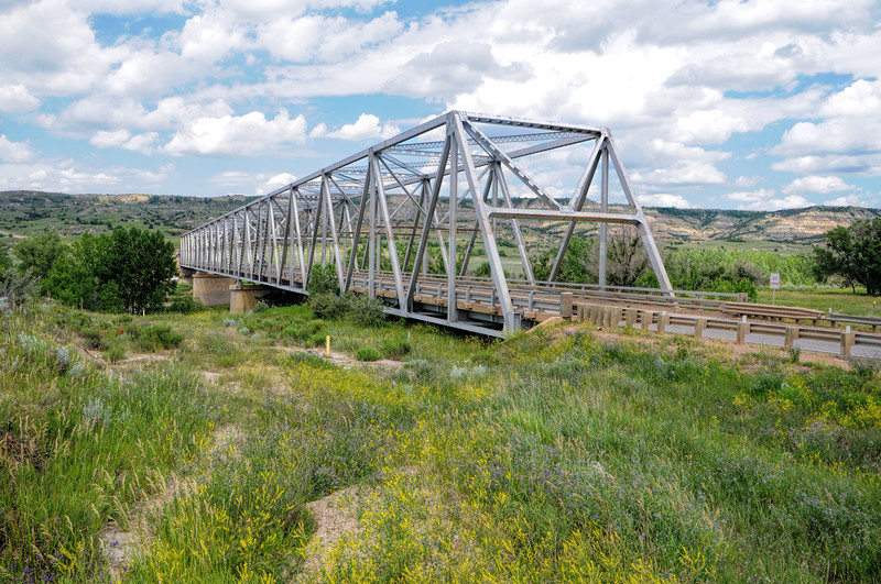 Long X Bridge over Little Missouri River