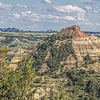 "Chimney Butte is a landmark formation south of Medora and is the namesake of T Roosevelt's first cattle ranch, later called Maltese Cross Ranch.<br /> <br /> You can own this image. Just click ""buy"" to browse the wall decor or keepsakes for your collection or gifts."