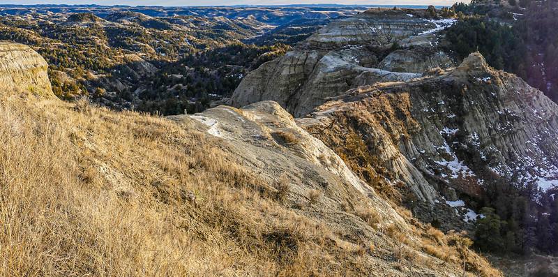 The Devil Passes Here, in the North Dakota Badlands