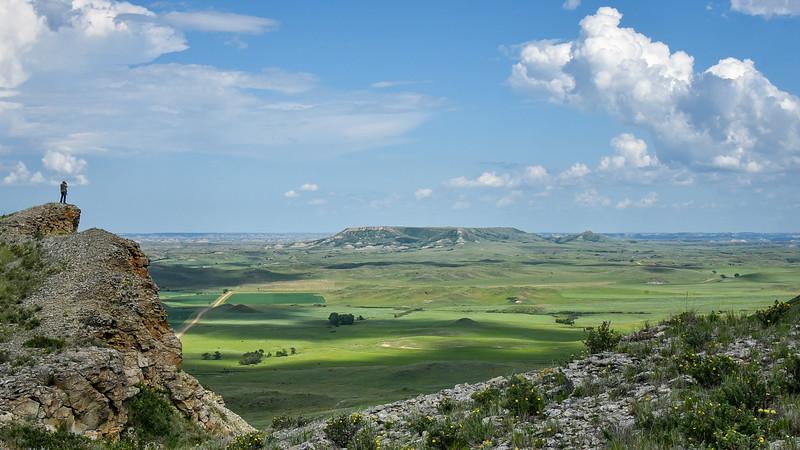 Square Butte On A Summer Day, North Dakota Badlands