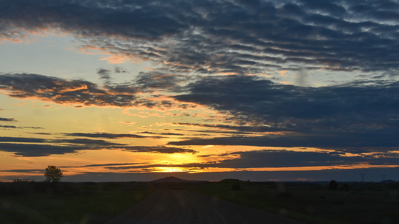 Heading Toward Camels Hump, North Dakota