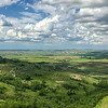 Camels Hump from atop Sentinel Butte, North Dakota