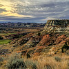 Above the Greens in the North Dakota Badlands.