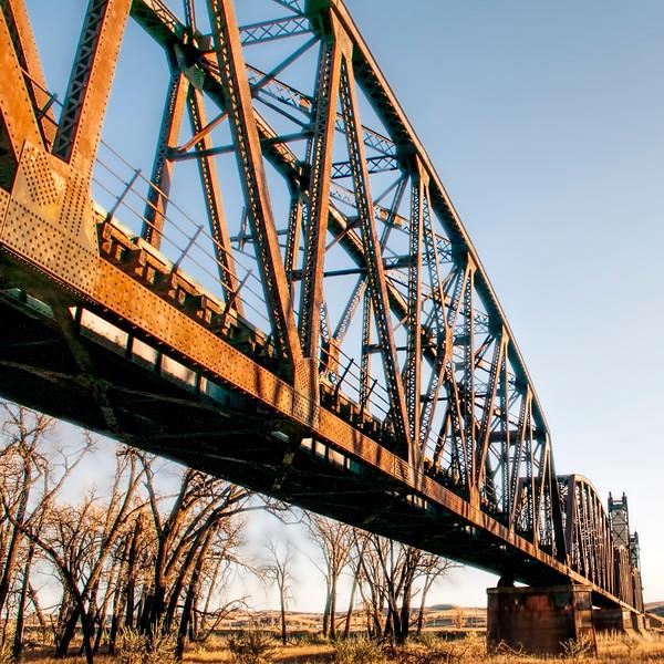 Underside of Snowden Bridge