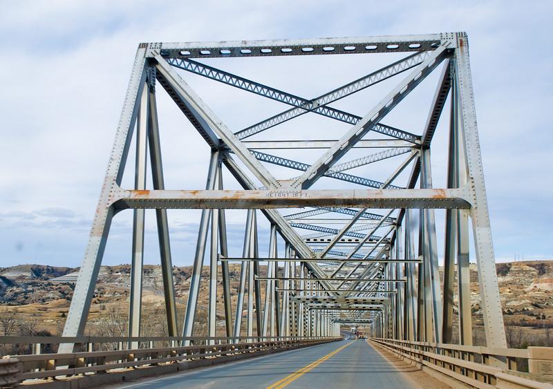 The  Long X Bridge, North Dakota
