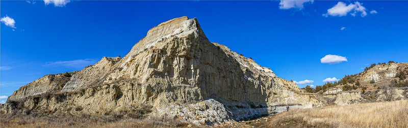 King of Buttes Above Magpie Creek, North Dakota Badlands
