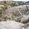 """What's left of the erosion-control guardrail.  Would you trust it?<br /> <br /> You can collect this image as wall decor, coffee mug or other product.  Just click """"buy"""" to browse and shop."""