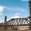 "Early spring day, blue sky, Snowden Lift Bridge<br /> <br /> You can own this print.  Browse the products when you click ""buy"" and you'll see the products available.<br /> <br /> To learn more about the Snowden Bridge, click this link:<br /> <a href=""https://wp.me/p8zmWn-1JM"">https://wp.me/p8zmWn-1JM</a>"