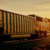 Train in to the sun