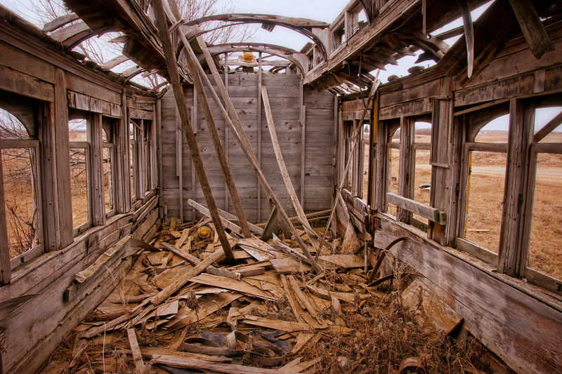 rail car interior