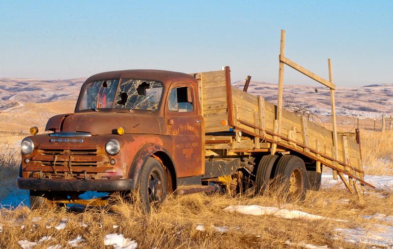 Old Red Dodge.