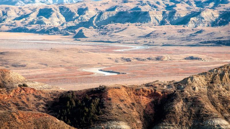 Little MIssouri River Soon to Meet the Mighty Missouri