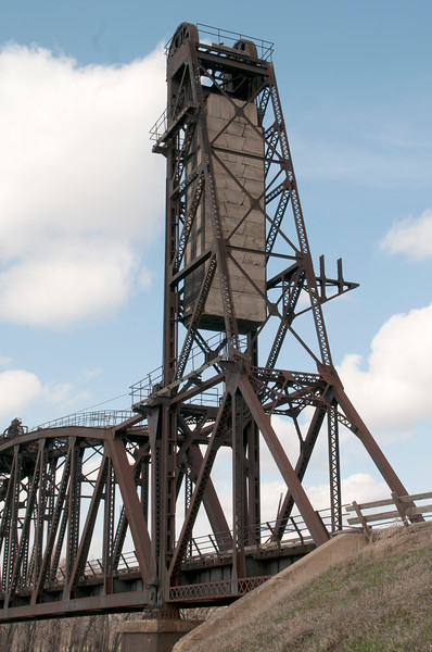 Snowden lift bridge counterweight
