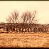 Abandoned rail car