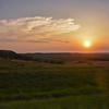 Sunset Over the North Dakota Grasslands