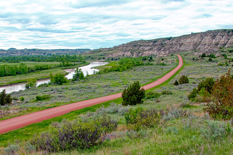Red Road into the Badlands