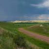 Summer Rains Approaching West River Road, North Dakota
