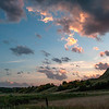 "Last moments of sun from the historic Elkhorn Ranch. <br /> <br /> <br /> You can own this image as a wall decor, coffee mug, mouse pad or other product.  Just click the ""buy"" button to go shopping."