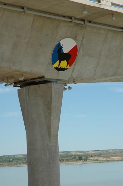 "Elk symbol below four bears bridge.<br /> Read about it here:<br /> <a href=""https://wp.me/p8zmWn-3X8"">https://wp.me/p8zmWn-3X8</a>"