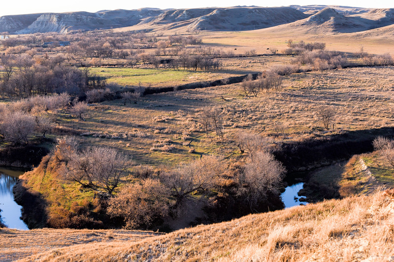 Beaver Creek of the North Dakota Badlands