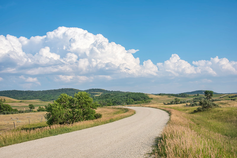 Back Roads of Killdeer Mountain, North Dakota