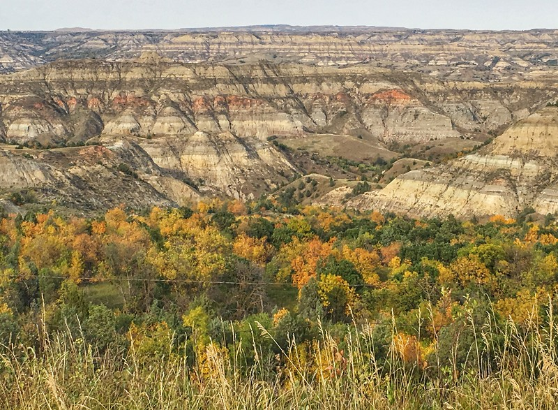 Little Missouri State Park fall colors