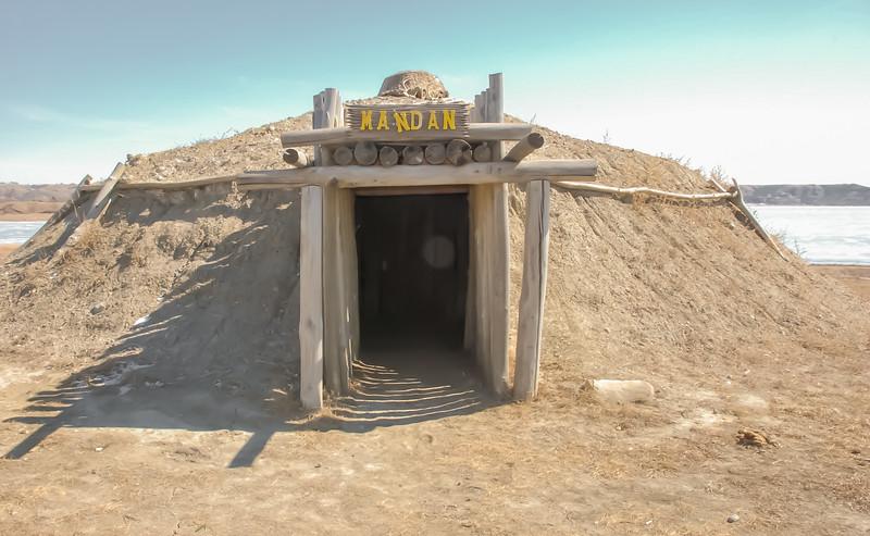 Earth Lodge Village of the MHA Nation, North Dakota #8