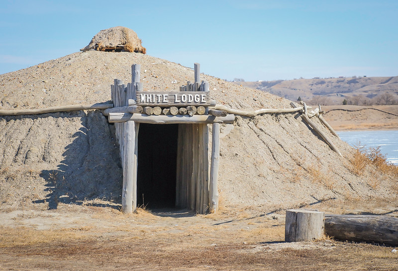 Earth Lodge Village of the MHA Nation, North Dakota #16