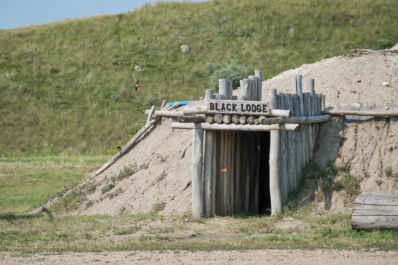Earth Lodge Village of the MHA Nation, North Dakota #43