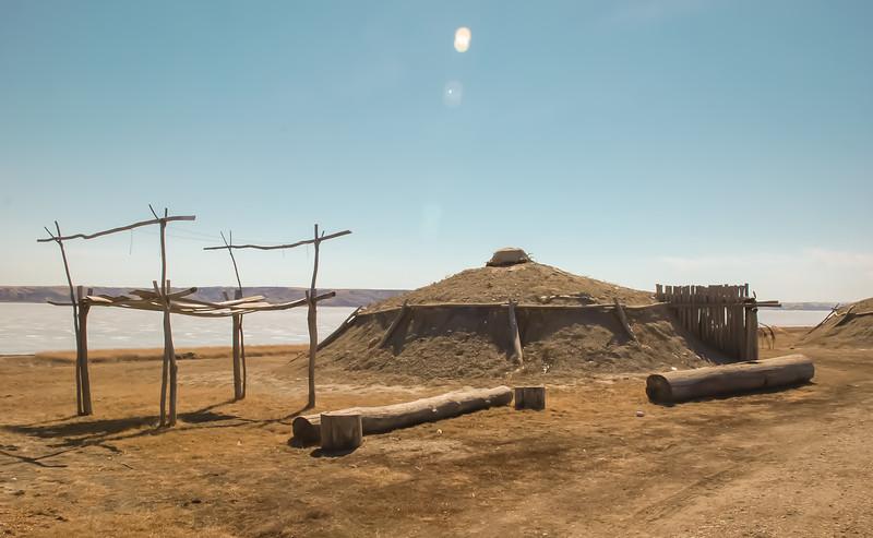 Earth Lodge Village of the MHA Nation, North Dakota #7