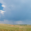 Summer Rainstorm Over the Grasslands, South of Elkhorn Ranch, North Dakota