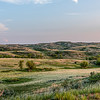 Rolling Grasslands Along the Badlands Near Theodore Roosevelt's Elkhorn Ranch, North Dakota