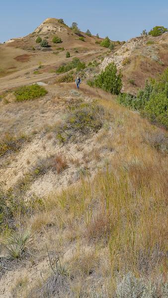 Hiking the Grasslands and Hills of Elkhorn Ranch, North Dakota