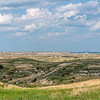 Looking South As We Drive to Elkhorn Ranch, North Dakota