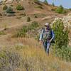 Grasslands and Hills Above Elkhorn Ranch, North Dakota