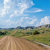 Ranch Roads in Western North Dakota, On the Way to Elkhorn Ranch