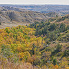 Fall in the Badlands at Elkhorn Ranch, North Dakota