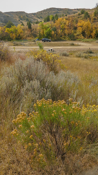 Elkhorn Ranch Campground in Fall