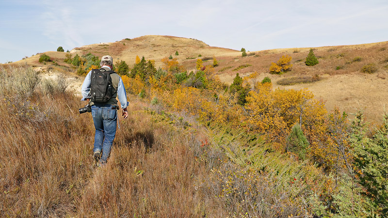 Hiking the Hills at Elkhorn Ranch, North Dakota